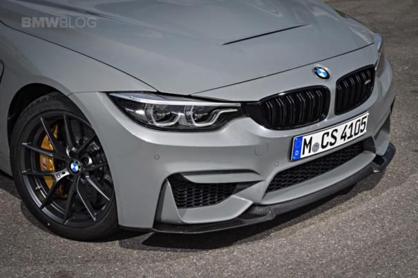 Front of the BMW M4 CS