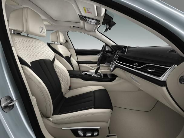 The BMW 7 Series Edition 40 Jahre's cabin