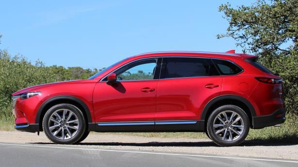 Side view of the Mazda CX-9