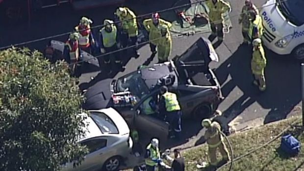 car accident in Cabramatta