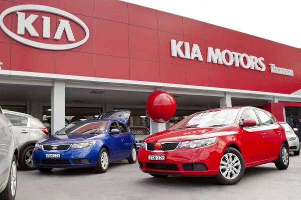 Kia Motors Nigeria showroom