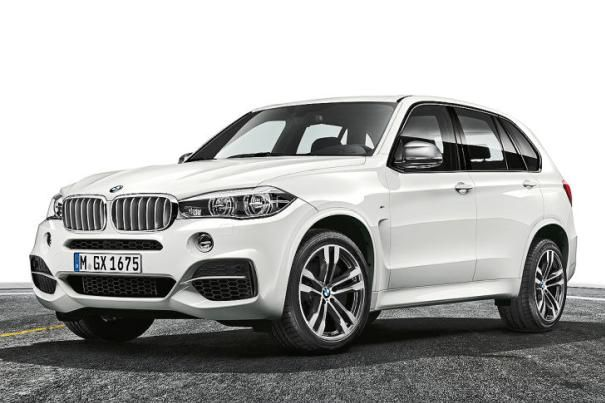 angular front of the BMW X5