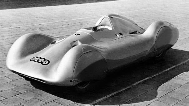 angular front of the Auto Union type C