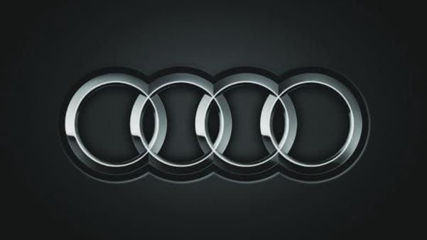 Four rings logo of Audi