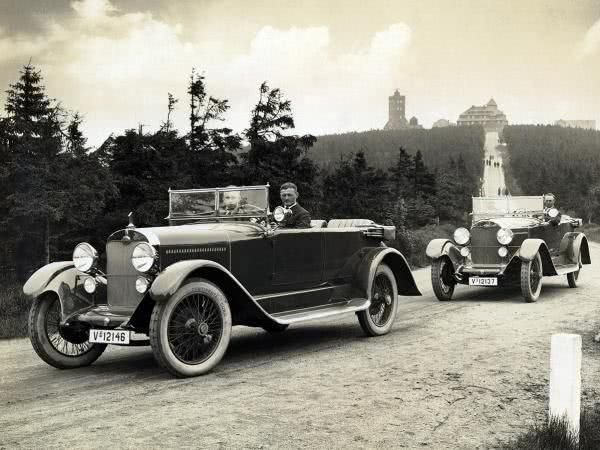 Audi Type K on the road