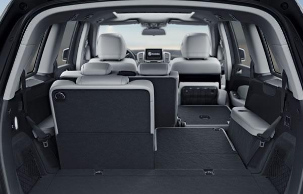cabin of the Mercedes GLS