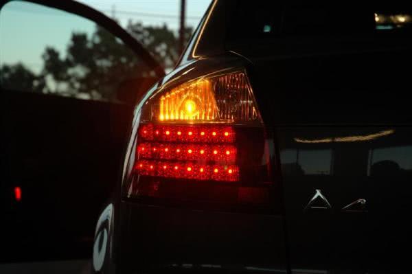 Turn on car signal