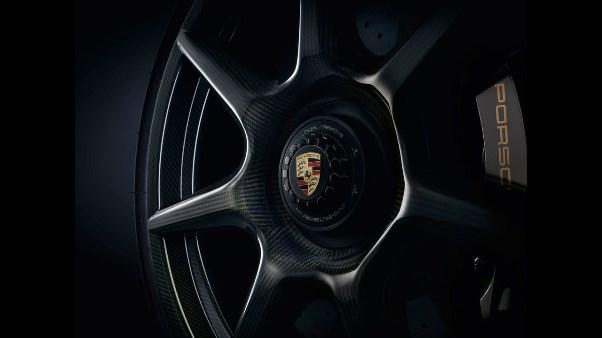 Porsche wheels made of carbon fiber reinforced polymer