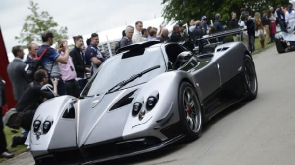 angular front of the Pagani Huayra BC