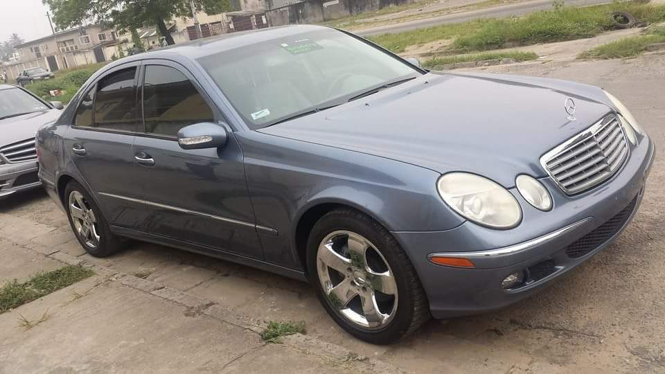 Mercedes benz c230 2004 sky blue for sale for 2001 mercedes benz e320 problems
