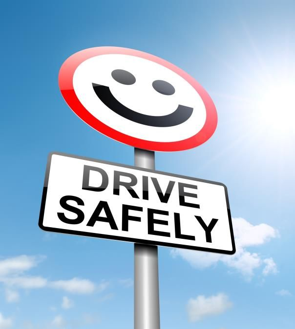 safe driving sign