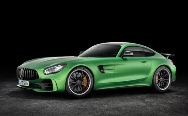 The angular front Mercedes Benz AMG GT