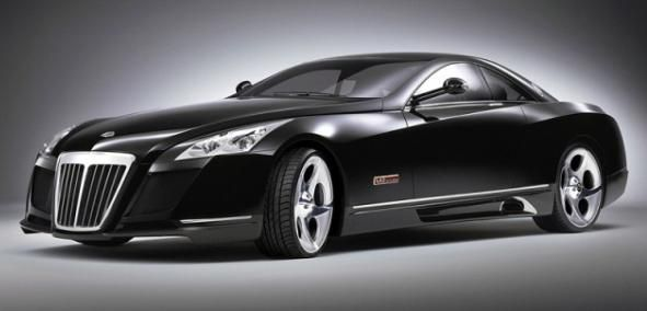 The angular front Maybach Exelero (2017)