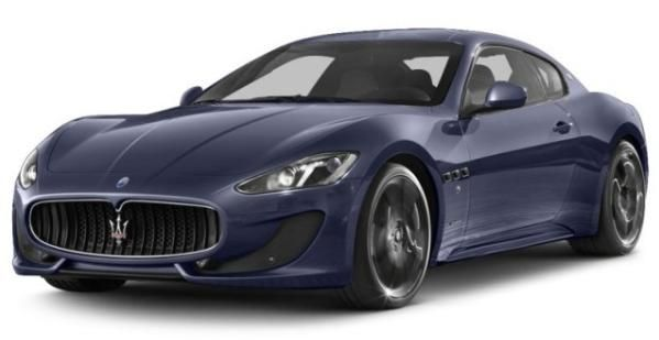 The angular front Maserati Granturismo
