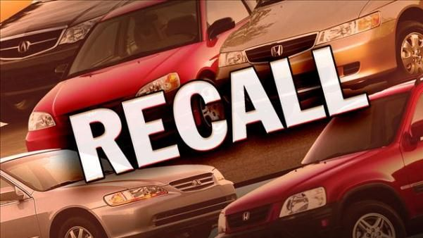 Recalled car sign