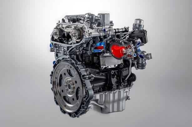 4-cylinder 2.0L turbocharged Ingenium engine