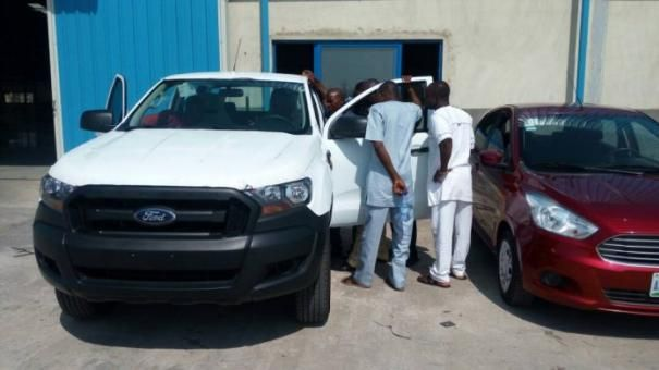 Ford Ranger and  Ford Figo are used in the DSFL training