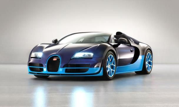Veyron front angle