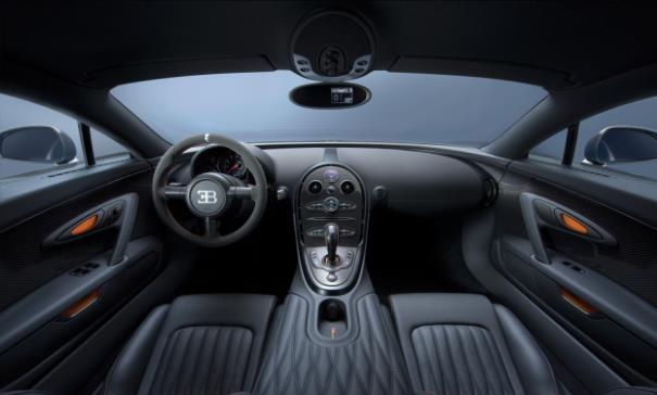 Veyron interior