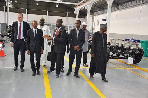 NADDC would cooperate with relevant parties at FUSO facility
