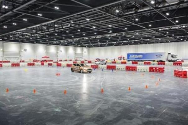 Ford Driving Skills for Life in London Excel center