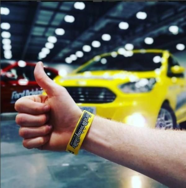 Positive feedback for Ford Driving Skills for Life in London Excel center