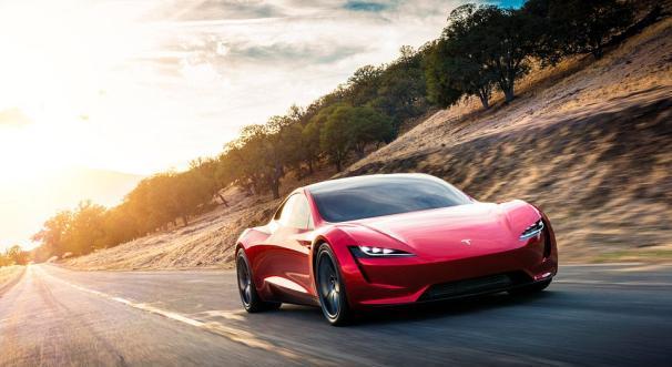 The angular front Tesla Roaster