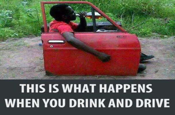 A drinking driver