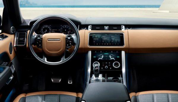 Range Rover Svautobiography 2018 entertainment system