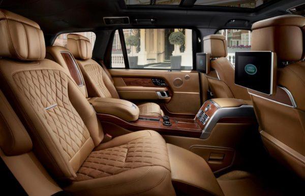 Range Rover Svautobiography 2018 seatings
