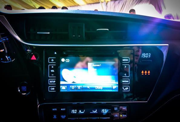 Toyota Corolla 2017 touchscreen