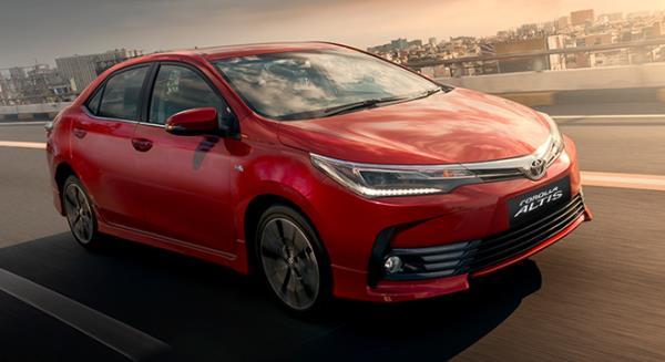 Toyota Corolla 2017 front angle