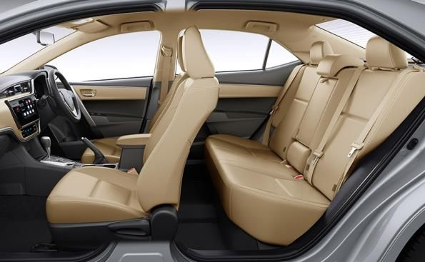 Toyota Corolla 2017 interior