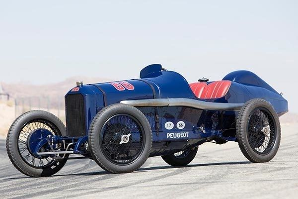The car accompanied Ralf Mulford to his third position at the 1916 Indianapolis 500 Mile Race