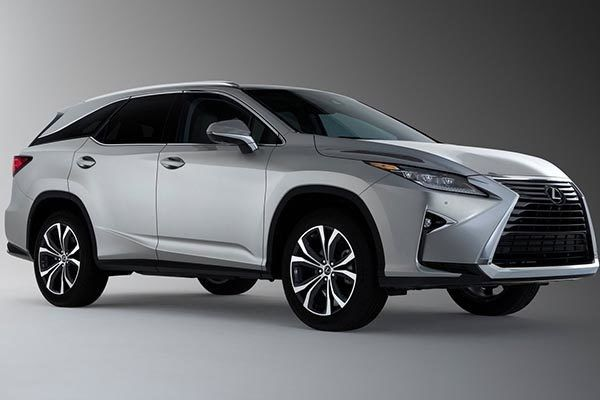 Lexus RX L mixes sharp-looking creases with curves