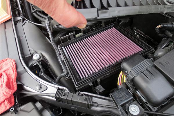 An air filter