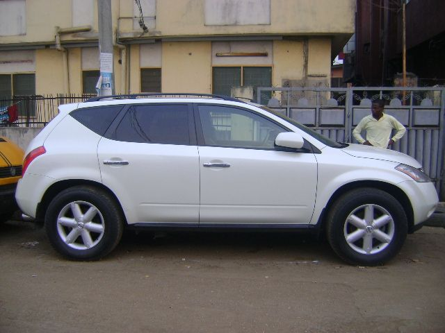 Cleared Nissan Murano White Se 2005 For Ssle