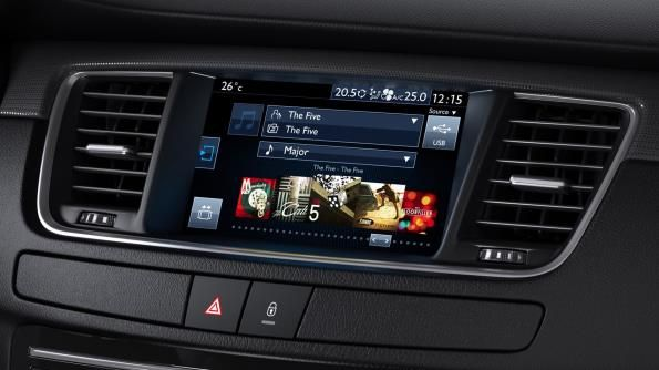 The 508's 7-inch touchscreen