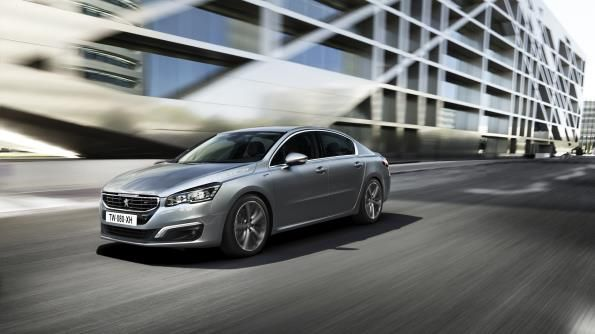 2017 Peugeot 508 front angle