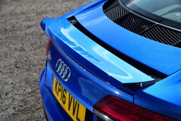 2017 Audi R8 rearview