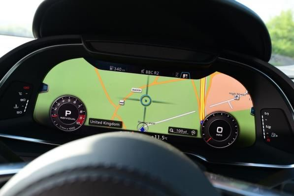 Audi's state-of-the-art Virtual Cockpit