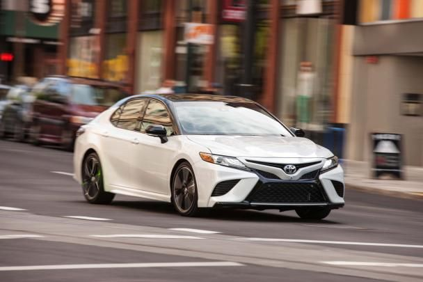 The Angular front Toyota Camry