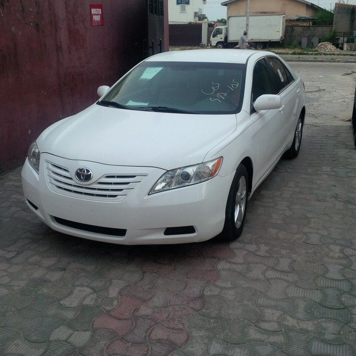 New Tokunbo 2008 Toyota Camry White For Sale