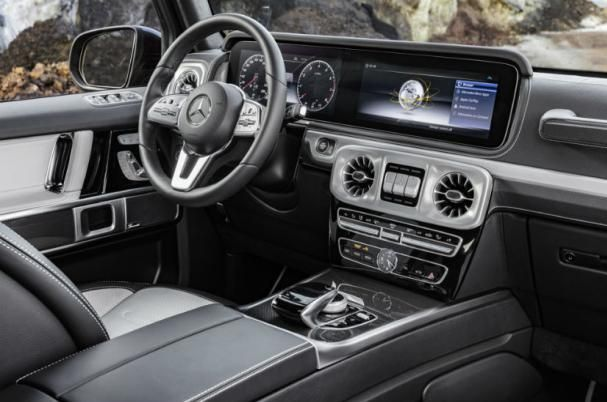 The 2019 Mercedes-Benz G-Class Interior