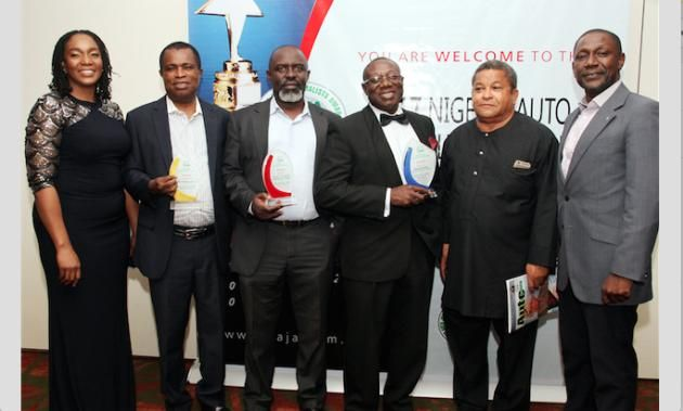 Peugeot peoples received the the Nigeria Auto Journalist Award