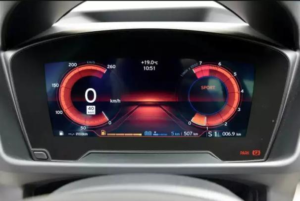 BMW i8 2018 odometer