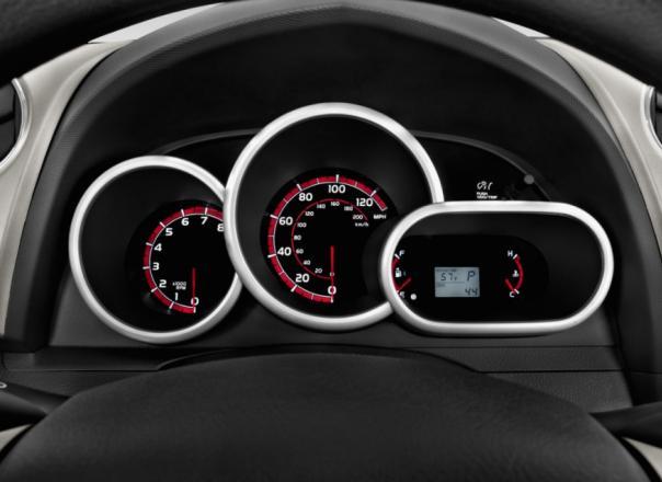 Toyota Matrix 2010 odometer