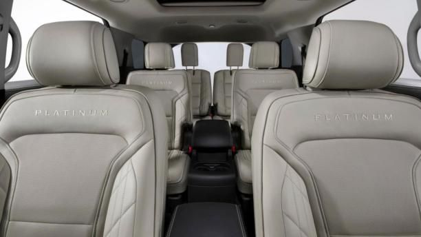 Ford Explorer 2018 seating rows