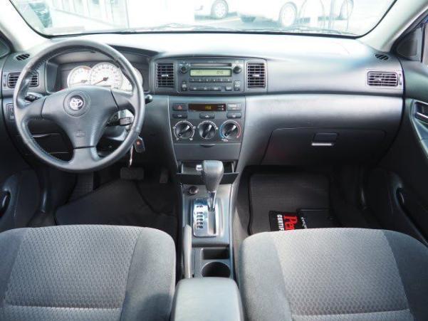 Toyota Corolla 2005 driver's seat