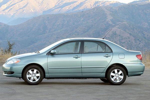 Toyota Corolla 2006 profile